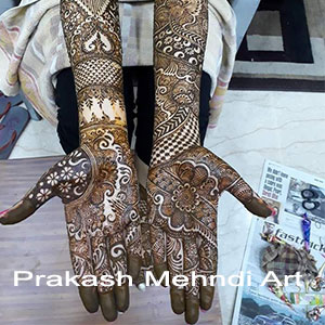 Bridal Mehandi in Delhi, Mehandi wala Bridal