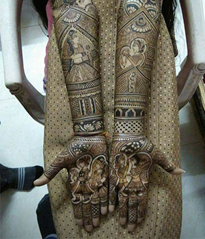 mehndi ke design bridal