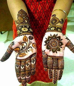 Bridal Mehandi Designer East Of Kailash