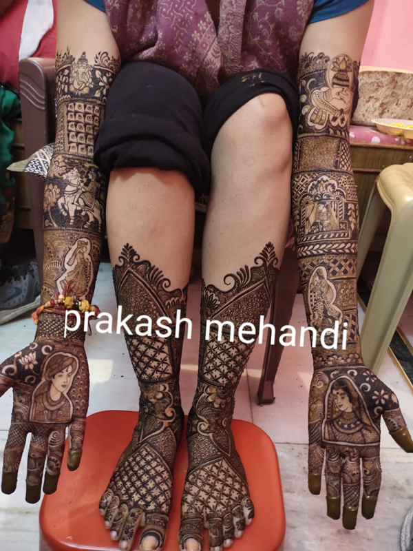 Bridal Mehandi Designer North Delhi